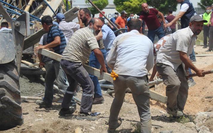 Ankara'da göçük faciası! Aynı inşaatta çalışan baba ile oğlunu ölüm ayırdı