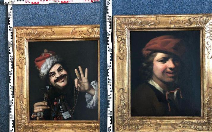 Almanya'da çöp konteynerinde 17. Yüzyıla ait iki değerli tablo bulundu