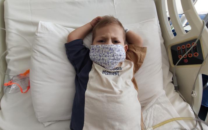 6 aylık bebeğin böbreği 6 yaşındaki çocuğa verildi