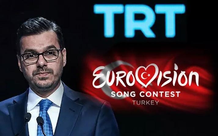 Heyecanlandıran gelişme! TRT Genel Müdürü'nden Eurovision açıklaması geldi
