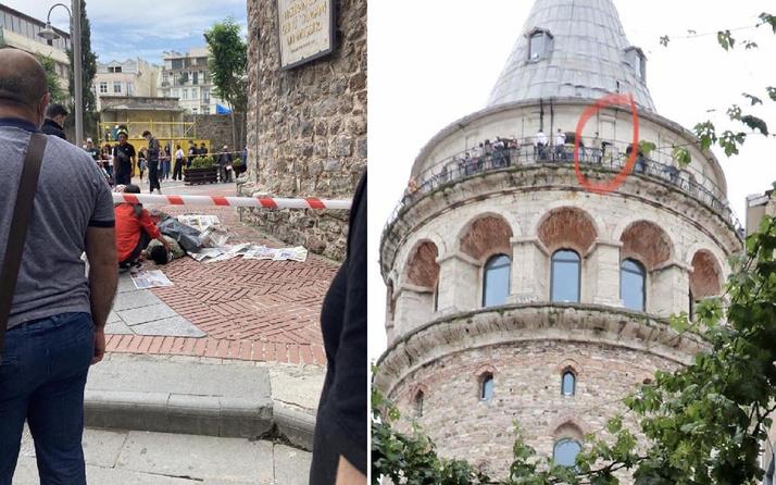 Galata Kulesi'nde yakın tarihte ikinci intihar vakası! 18 yaşındaki kayıp Osman öldü