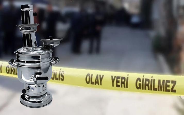 Samsun'da çay semaveri gencin sonu oldu! Banyoya giren aile kahroldu