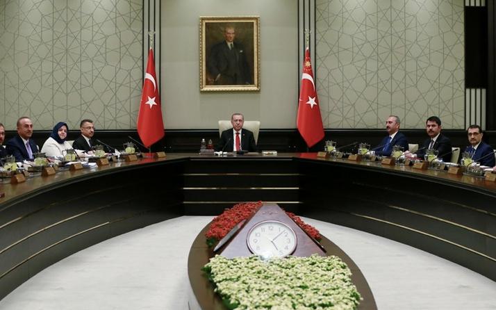 Kabine toplantısı saat kaçta Erdoğan kararlar ne zaman açıklayacak?