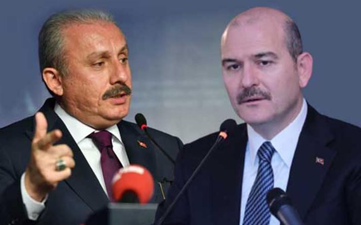 Cehalete bak! Meclis Başkanı Mustafa Şentop, İçişleri Bakanı Süleyman Soylu'nun istifasını mı istedi?
