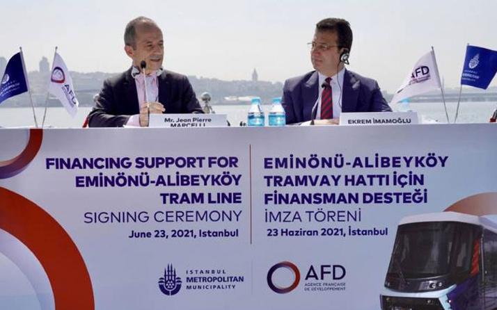 İBB, Fransız Kalkınma Bankası ile 93 milyon euro borç için anlaştı