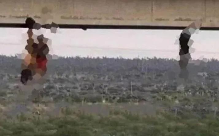 Dehşete düşüren görüntü! İşkenceyle öldürüp çıplak halde köprüye astılar