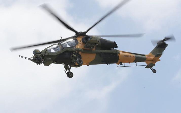TSK 55'inci ATAK helikopterini envanterine aldı