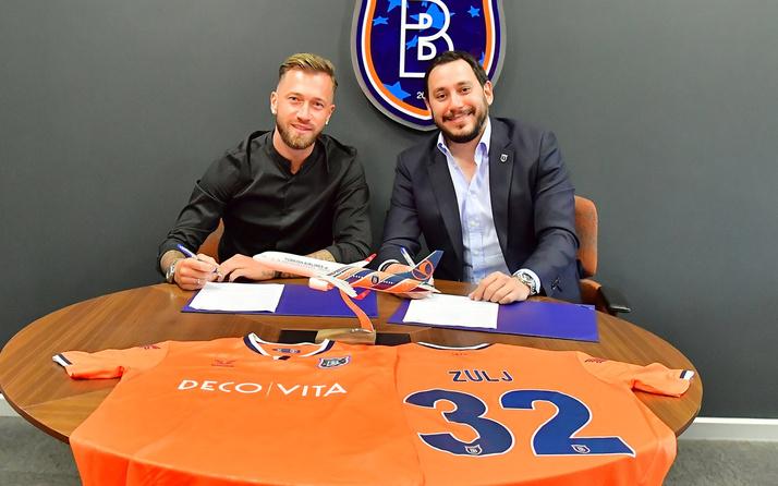 Medipol Başakşehir Peter Zulj ile 3 yıllık sözleşme imzaladı