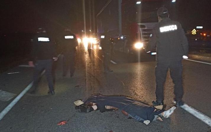 Sivas'ta korkunç kaza! Yaralı halde kimse fark etmedi araç üzerinden geçti