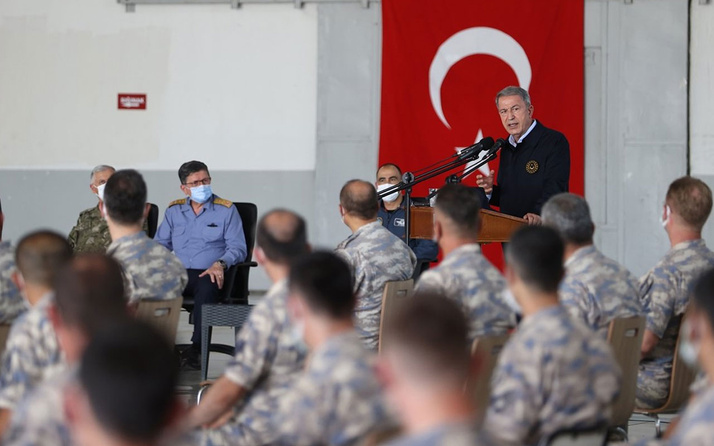 Milli Savunma Bakanı Hulusi Akar'dan 'terörü bitireceğiz' mesajı