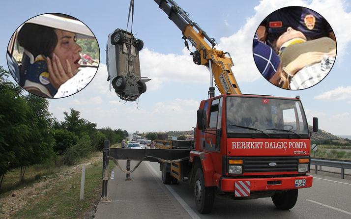 Manisa'da kazayı görüp yavaşladı zincirleme kazaya yol açtı! Yaralılar var