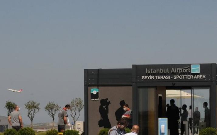 İşte Türkiye'nin ilk resmi Spotter alanı İstanbul Havalimanı'nda kuruldu