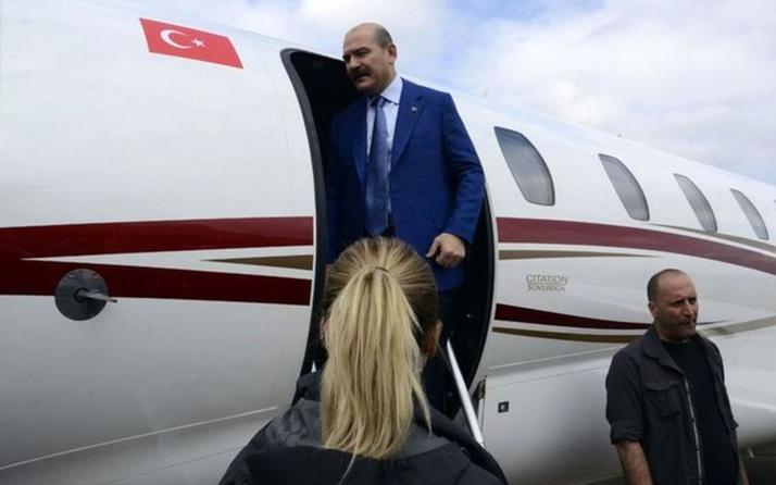 İçişleri Bakanlığı'ndan Bakan Soylu'nun kiraladığı uçak ile ilgili iddiaya belgeli yanıt!