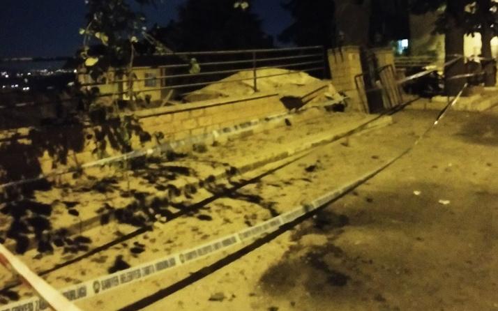 Sarıyer Bahçeköy'de 9 katlı bina çöktü