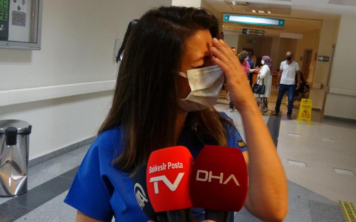 Bakan Fahrettin Koca hikayesini paylaşmıştı Ebru Hemşire ağlayarak anlattı