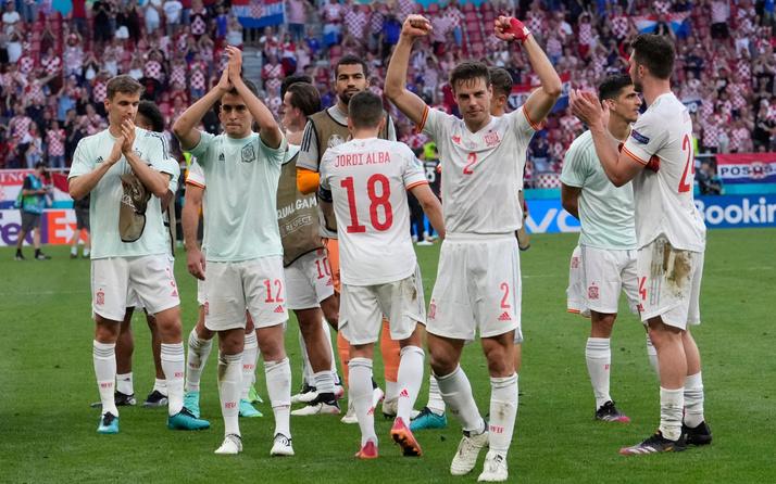 İspanya unutulmaz maçta Hırvatistan'ı EURO 2020 dışına itti