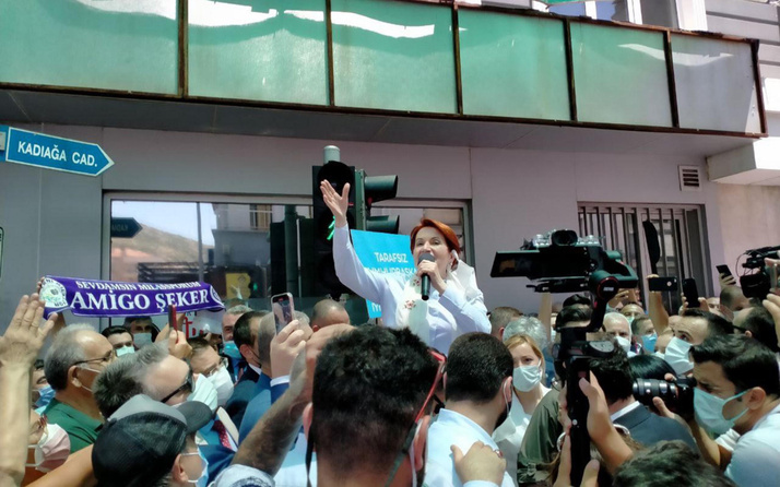 Meral Akşener'den Cumhurbaşkanı Erdoğan'a 'yumurtanın çıktığı kap' göndermesi