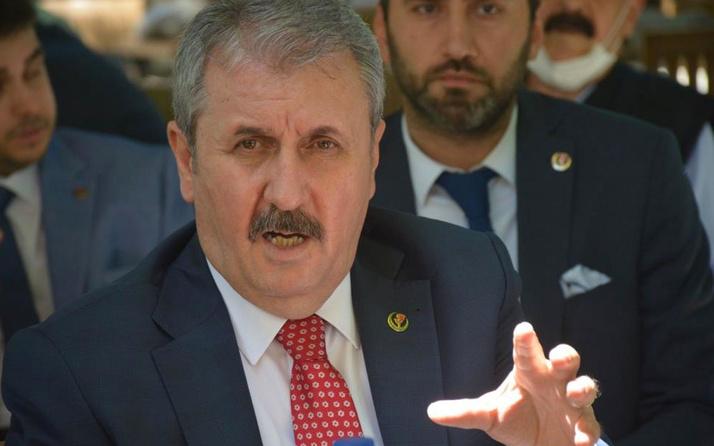 Mustafa Destici'den müsilaj yorumu: Fabrikalar elektrik parasını ödememek için...