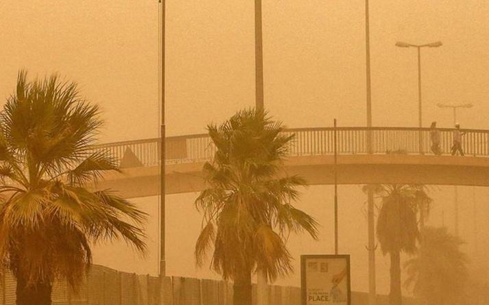 'Kuveyt çok güzel' deyip kum fırtınasından yakınan adam tutuklandı
