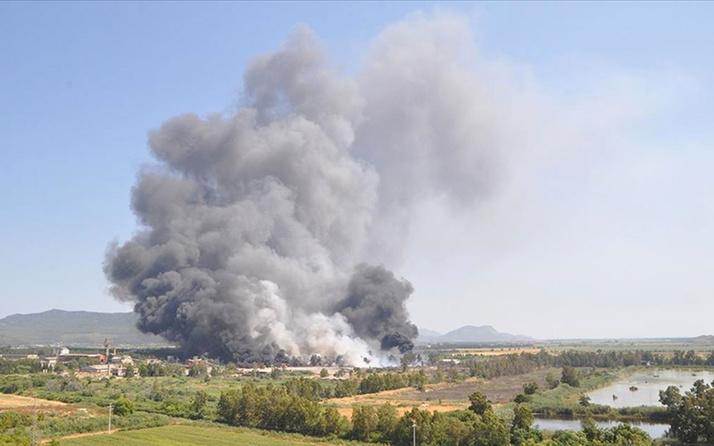Çevre ve Şehircilik Bakanlığınca Dalaman'daki yangının başladığı kağıt fabrikası kapatıldı