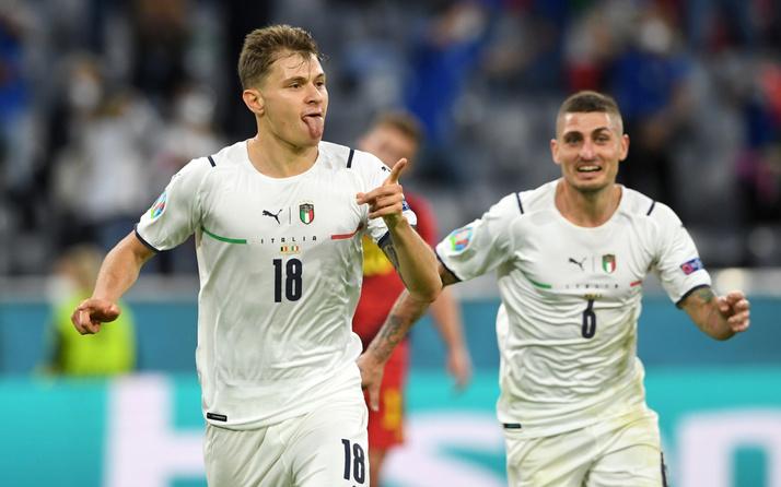 EURO 2020'de Belçika'yı deviren İtalya yarı finale yükseldi