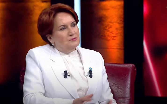 İYİ Parti Genel Başkanı Meral Akşener: Erdoğan topuğuna kurşun sıktı