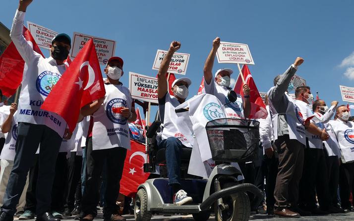 Memur-Sen'den pahalılık protestosu: Seyyanen zam istediler