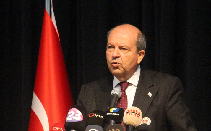 Ersin Tatar: Türk askeri gelmeseydi Kıbrıs Yunan adası olurdu