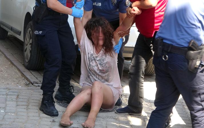 Antalya'da kömürlüğe girince şok oldu! Gizemli kadın polisi alarma geçirdi
