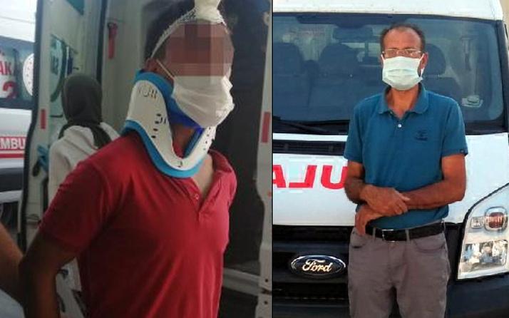 Kayseri'de sesi duyup bakınca suçüstü yakaladı! Hastanelik etti