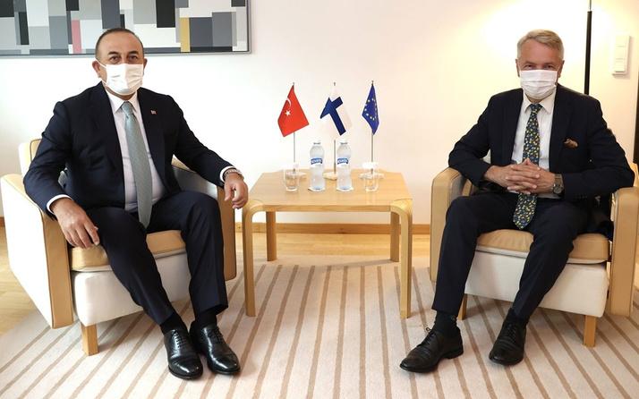 Bakan Mevlüt Çavuşoğlu Finlandiya mevkidaşı ile görüştü