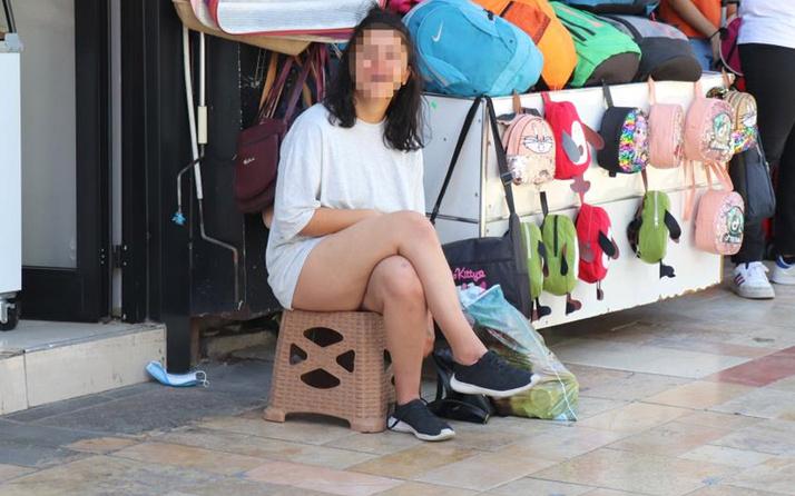 Denizli'de yarı çıplak kadın ortalığı karıştırdı! Şalvar giydirmek istediler o 'zoom çek' dedi