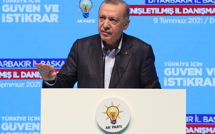 Cumhurbaşkanı Erdoğan Diyarbakır'da konuştu: 2023'e ağır imtihan bekliyor