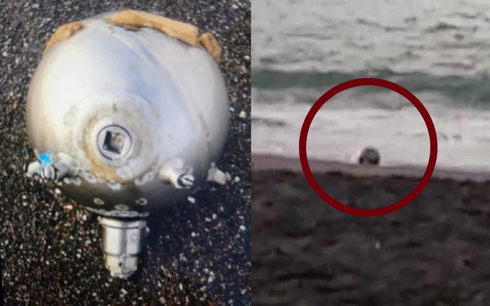 Düzce'de kıyıya vurdu ekipler alarma geçti! Rus yapımı mayın tetikleyicisi