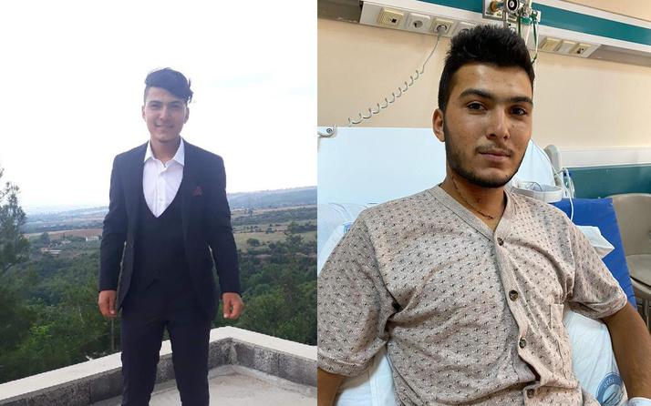 Ankara'da şah damarı kesilen işçi yüzde bir ihtimalle hayata tutundu