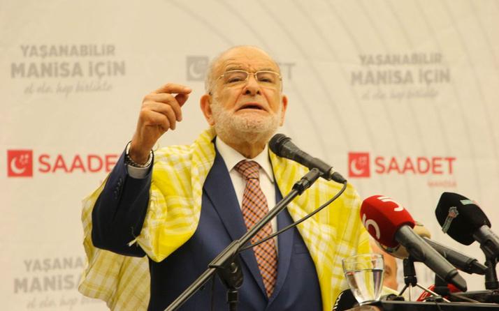 Saadet Lideri Temel Karamollaoğlu'ndan erken seçim açıklaması