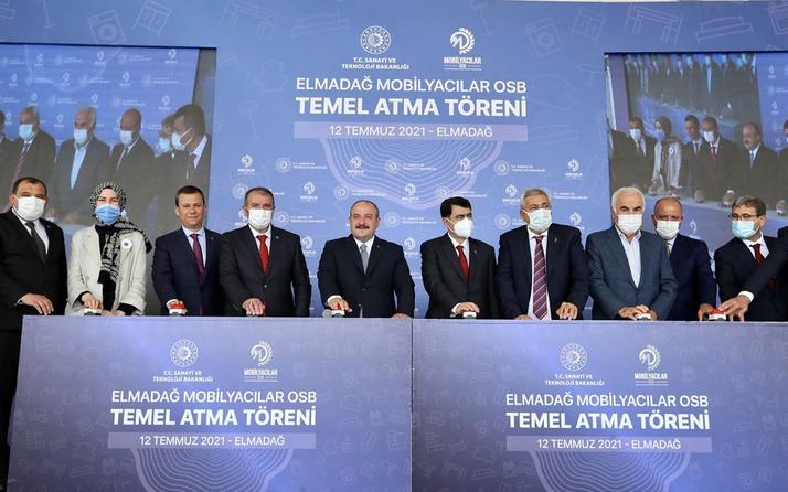 Bakan Mustafa Varank: OSB sayısı 70'den 326'ya çıktı