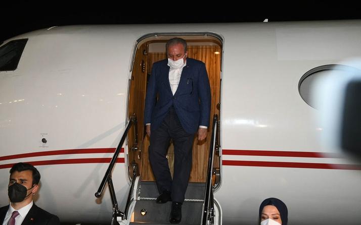 TBMM Başkanı Mustafa Şentop ve beraberindeki heyet Kuveyt'te