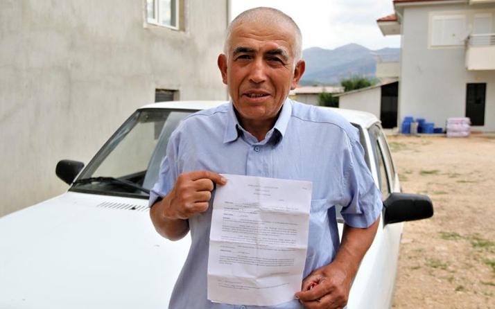 Antalyalı çiftçiye şok! Hiç gitmediği İstanbul'dan 20 farklı trafik cezası geldi