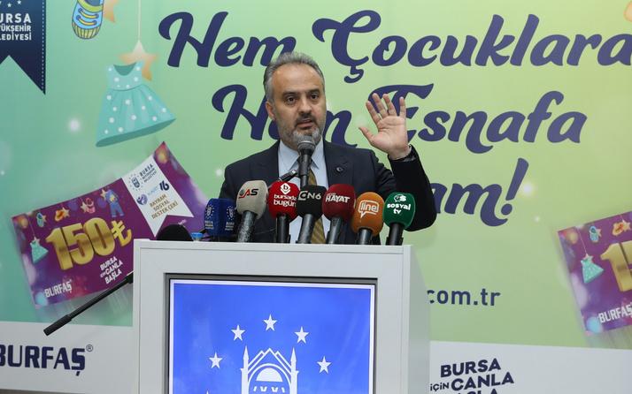 Bursa'da hem esnaf hem çocuklar bayram edecek