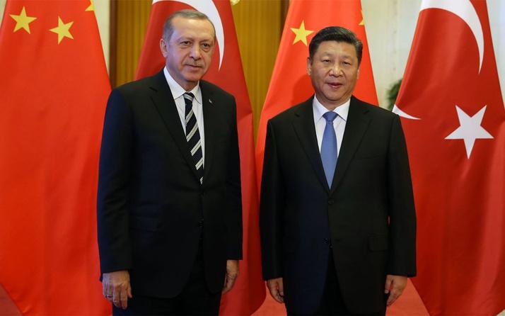 Cumhurbaşkanı Erdoğan'dan Çin Devlet Başkanı Cinping'e Uygur Türkleri mesajı