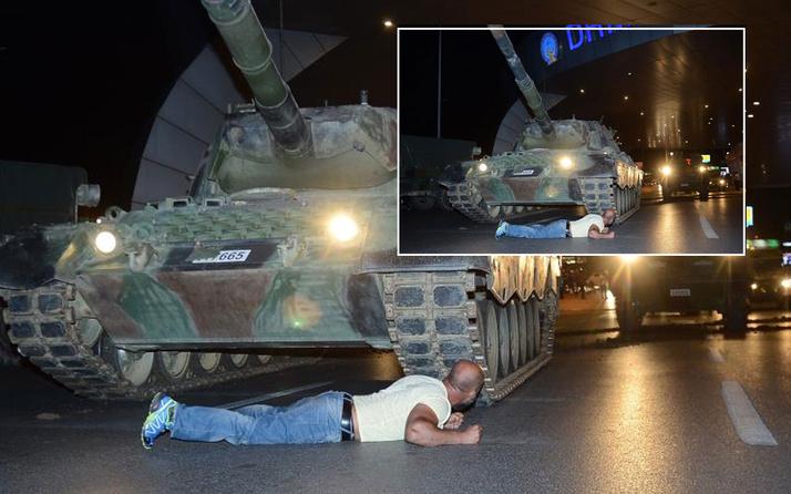 Darbe girişiminde tankın önüne yatmıştı! Metin Doğan o kara geceyi anlattı
