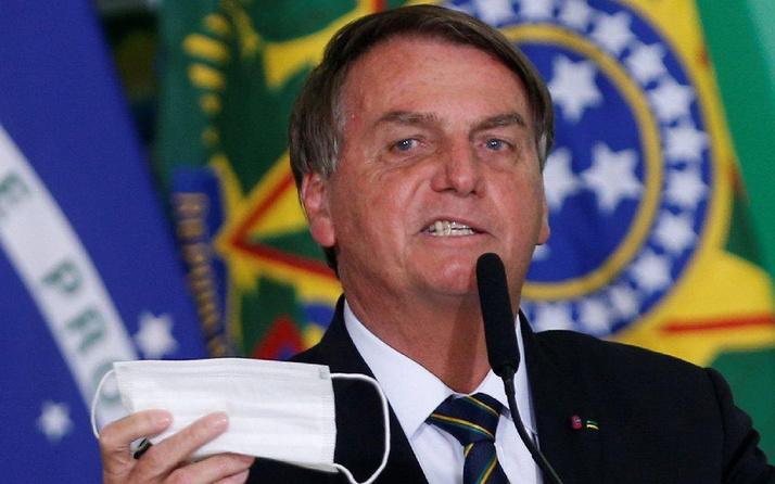 Brezilya lideri Bolsonaro hıçkırık yüzünden hastaneye kaldırıldı