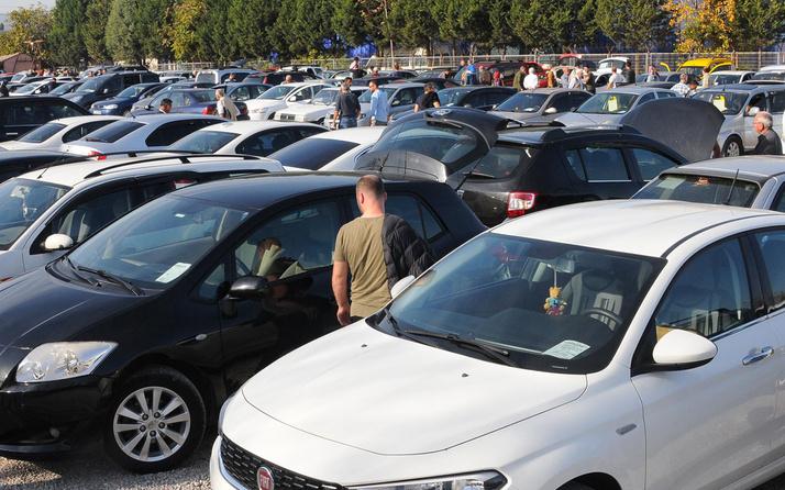 İkinci elde en çok talep 150 bin lira civarında satılan araçlara oldu