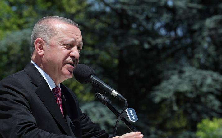 İlk bombanın düştüğü yerde tören! Erdoğan: Kimse bu şanlı mücadeleyi önemsizleştiremez