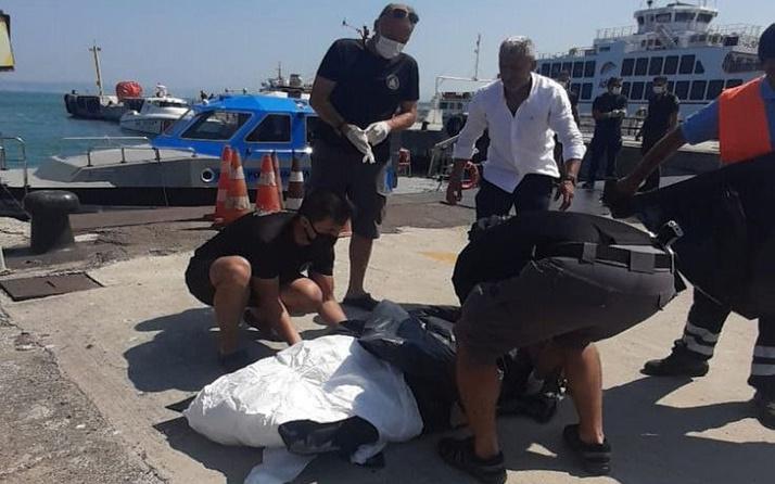 Yalova'da gören polisi aradı! Denizde ceset bulundu: 15 gün önce...
