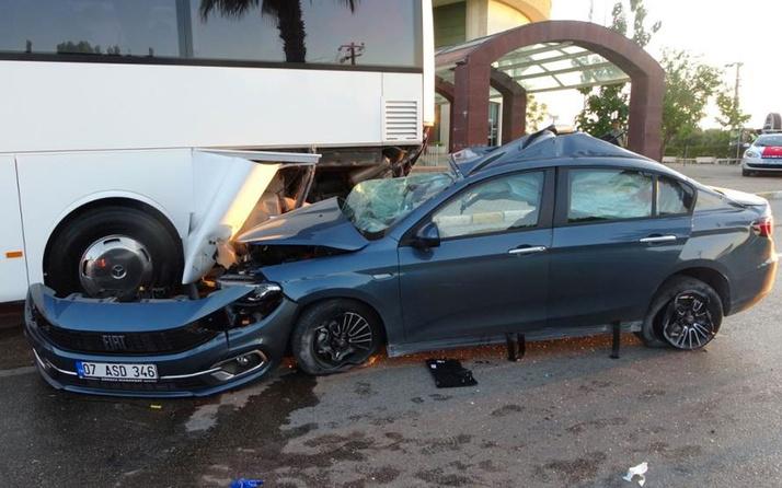 Tatile gelen gurbetçi genç Manavgat'ta trafik kazasında can verdi