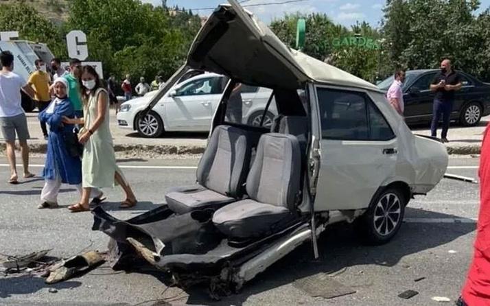 Ankara'da zincirleme kaza: 1 ölü 10 yaralı