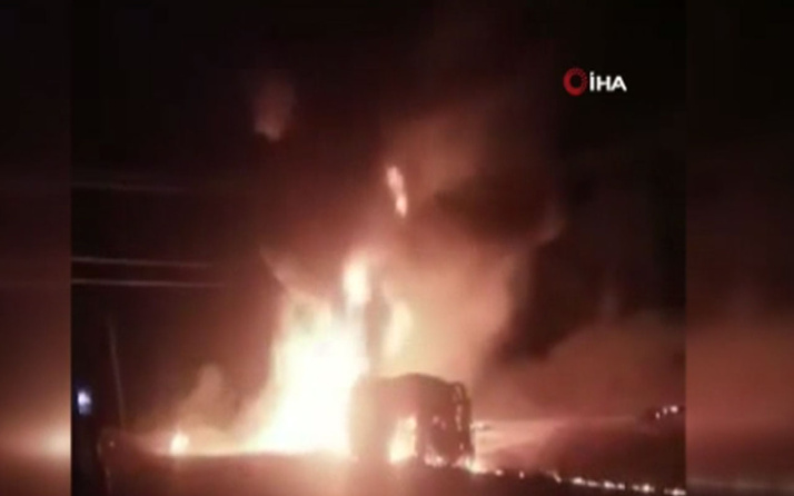 Kenya'da akaryakıt tankeri patladı: 13 ölü, 11 yaralı var