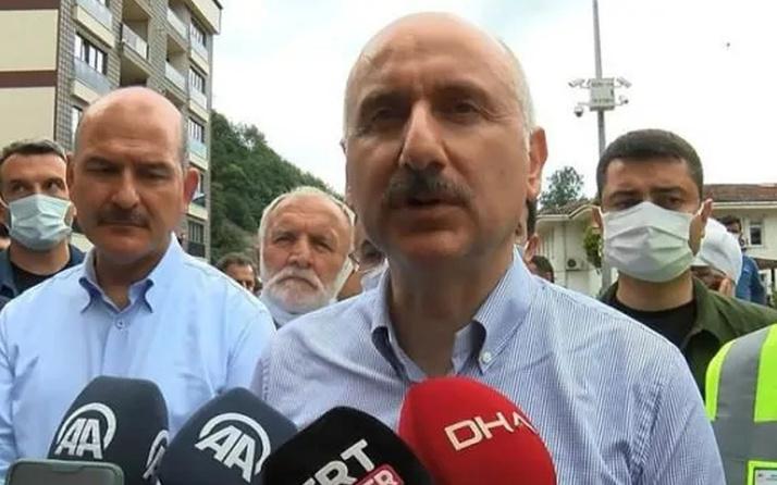 Bakan Adil Karaismailoğlu Rize için konuştu: Zararlar karşılanacak